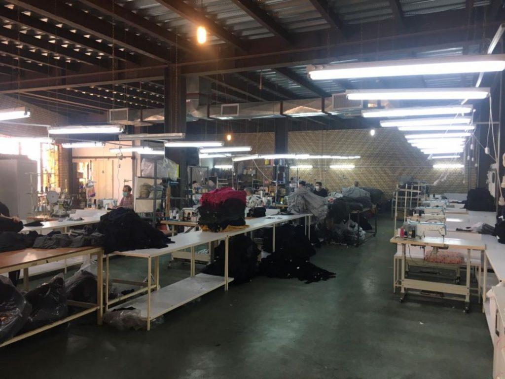 تولیدی پوشاک کینگ اگزیت ، تولید ماسک پزشکی